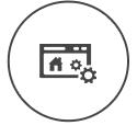 A imobiliária poderá criar hotsites de forma simples e em tempo real, dentro do painel de gerenciamento do site. Ficará como www.suaimobiliaria.com.br/nome-do- empreendimento, assim, esse link especial gerado poderá ser de um empreendimento que precisa de mais destaque.