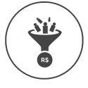 Site com alto poder de captação de lead's, acima dos sites convencionais.