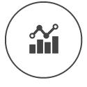 Interpretamos e analisamos os números das campanhas e desempenho do site. São muitas informações que precisam ser traduzidas ao cliente, que servem para a tomada de decisões.