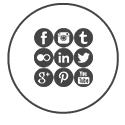 Gerenciamos o conteúdo diariamente das principais redes sociais, como Facebook, Instagram entre outras.